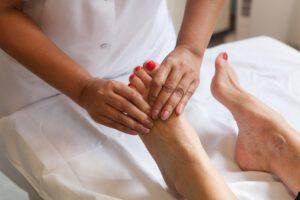 Aster voet massage